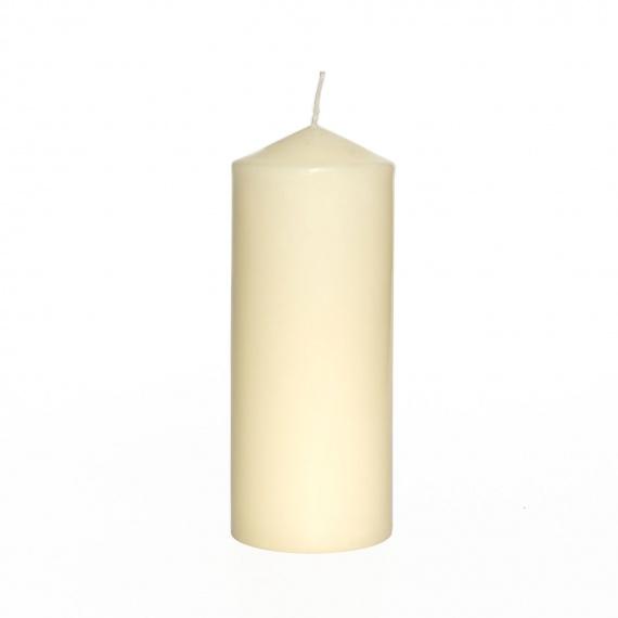 6 velas 8 x 20 cm alto