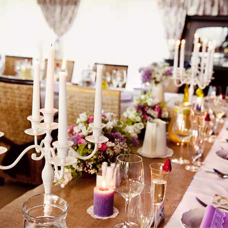 decoracion bodas velas