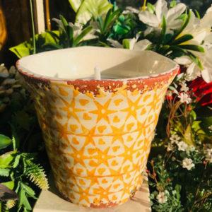 vela mandala amarillo waxdesign velamarket citronela