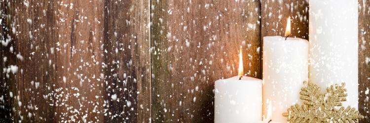 decoracion velas navidad