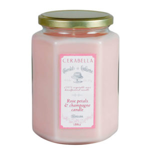 vela sucre cerabella xl rosas velamarket